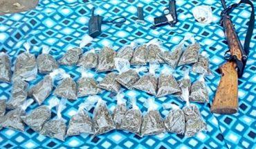 Caen con armas, drogas y equipo táctico en Guerrero
