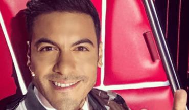 Carlos Rivera rompe en llanto al recordar a Hiromi en la Voz