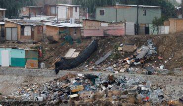 Catástro del Ministerio de Vivienda: existen 822 campamentos a nivel nacional