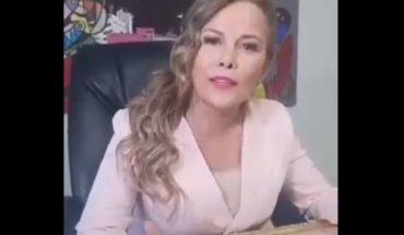 Cathy Barriga se querellará contra los medios que pusieron en duda su título universitario