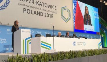 Chile será sede de la próxima Cumbre del Clima COP25 en 2020