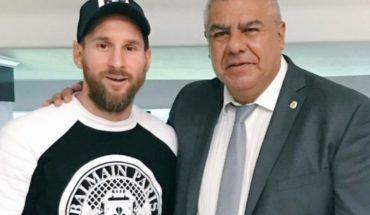 Chiqui Tapia confía en el regreso de Lionel Messi a la Selección Argentina