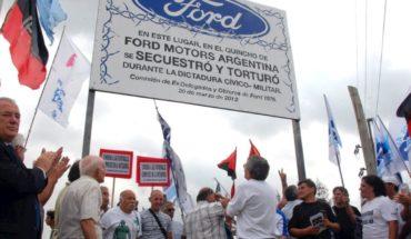 Civiles y dictadura: condenaron a ex directivos de la empresa Ford