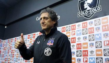 """Colo Colo presentó a Mario Salas como su nuevo DT: """"Yo sé a dónde apunta este barco"""""""