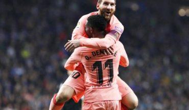 Con dos golazos de Messi, Barcelona vapuleó al Espanyol en el clásico catalán
