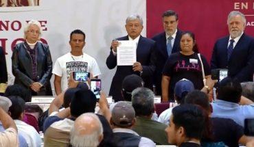 Crea AMLO Comisión para caso Ayotzinapa