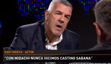 "Dady Brieva: ""Con Midachi nunca hicimos casting sábana"""