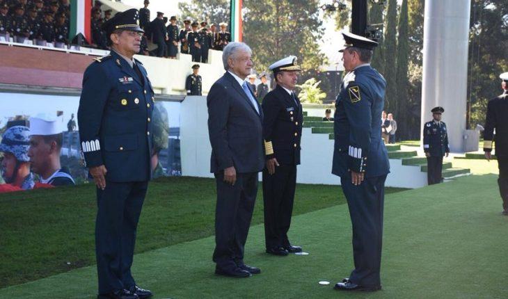 Defensa y Marina de AMLO prometen respetar derechos