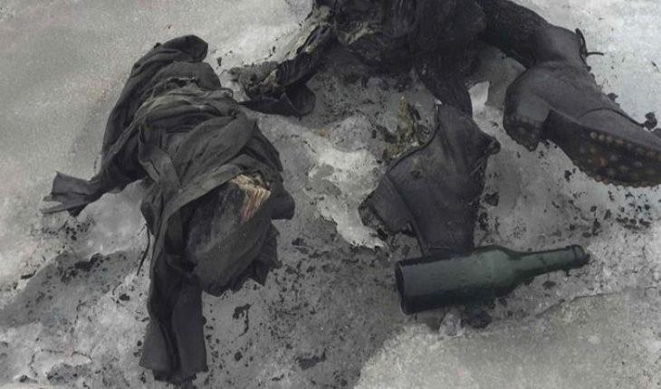 Derretimiento de glaciares deja al descubierto cadáveres congelados