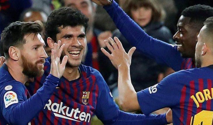 El Barça recupera el liderato al aprovechar el empate del Sevilla