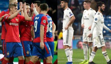 El CSKA vence 3-0 al Real Madrid pero se queda fuera de Europa