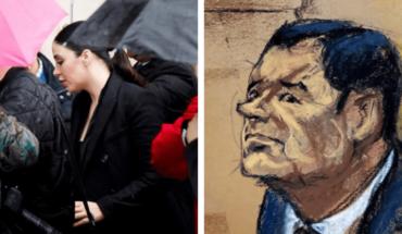 El Chapo se 'desmorona', llora al ver a sus hijas en la corte
