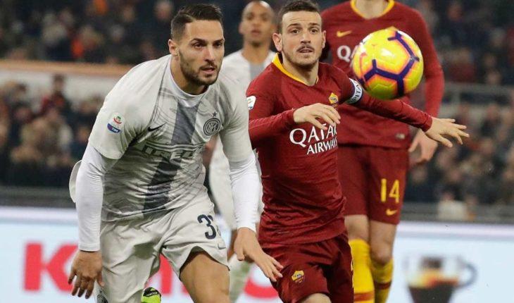 El Inter iguala 2-2 con la Roma y se aleja de la Juventus