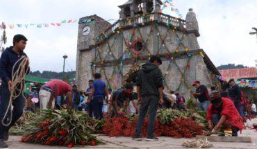 El pueblo donde Navidad se celebra con una flor sagrada