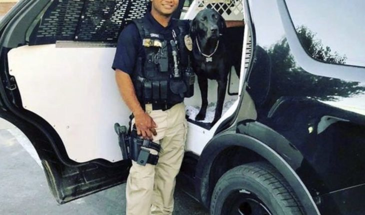 Elogian a policía asesinado a tiros en California