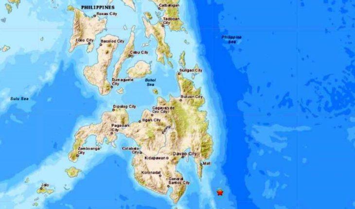Emiten alerta de tsunami por sismo en Filipinas