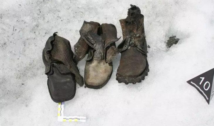 En Suiza, cadáveres que estuvieron atrapados durante décadas en los glaciares, salen a la superficie por el calentamiento global