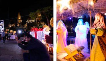 Encienden ornato navideño en Guadalajara