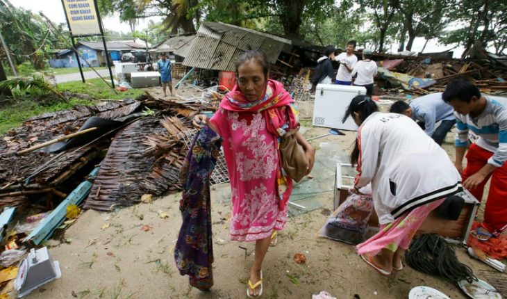 [FOTOS] Así se ve Indonesia luego del tsunami que ha dejado 222 muertos y 843 heridos