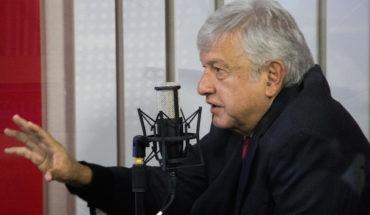 López Obrador en entrevista radiofónica