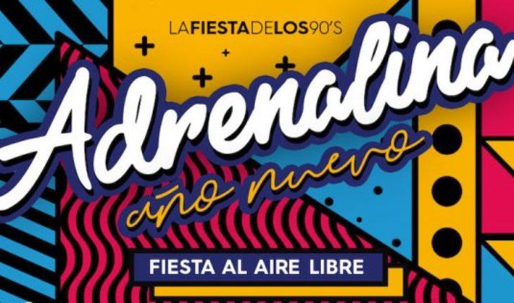 """Fiesta Año Nuevo 2019 """"Adrenalina"""" en Matucana 100"""