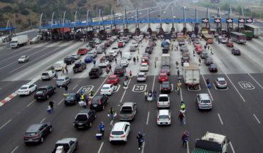 Fin de semana de Año Nuevo: 553 mil vehículos abandonarían Santiago