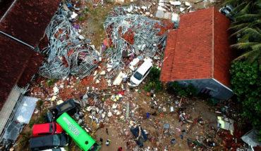 Fotografías de la devastación causada por el tsunami en Indonesia