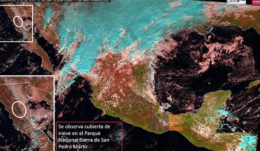 Frente Frío No.16 y masa polar propician ambiente frío en gran parte del país