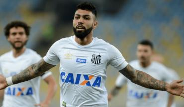 Gabigol se despide de Santos para regresar a Milán