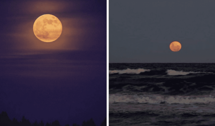 Galería: mira las increíbles fotos de la última Luna llena