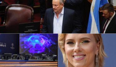 Habló el senador Marino, D'Elía podría volver a prisión, acusan al Real Madrid, Scarlett Johansson en Buenos Aires y más...