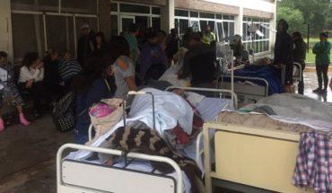 Incendio, humo, caos y 180 evacuados en el Hospital Oñativia