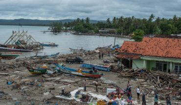 Indonesia devastado por tsunami; ya van más de 300 muertos