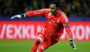 Keylor Navas dejaría al Real Madrid en el mercado invernal