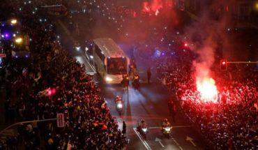 La extrema medida de seguridad con los micros de Boca y River en Madrid