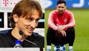 La lista filtrada era cierta: Modric se llevó el Balón de Oro y Messi quedó quinto