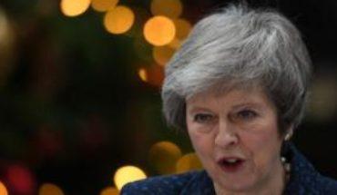 La primera ministra británica, Theresa May, se enfrentará a un voto de no confianza de su partido por la crisis del Brexit
