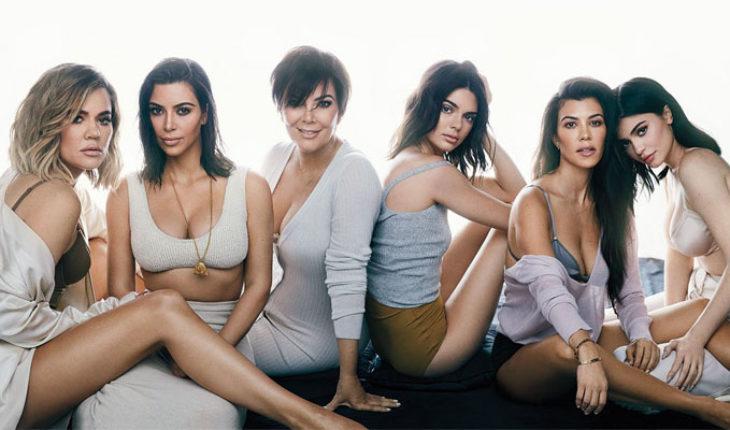 La tarjeta navideña Kardashian