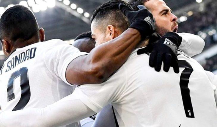 Las impresionantes estadísticas de Juventus en este 2018