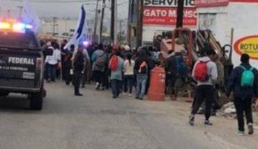 Libre acceso a EU o 50 mil dólares para regresar piden migrantes a Trump