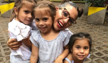 Los tiernos videos de Cinthia Fernandez con sus hijas: ¿existe Papá Noel?