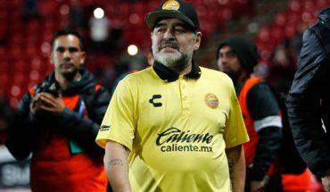 Maradona es sancionado con multa económica por actos violentos