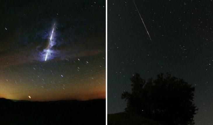 Meteoro del tamaño de un refrigerador ilumina cielo de E.U