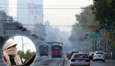 Navidad tóxica, amanece contaminada la Ciudad de México