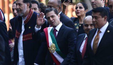 Es falso que hayan quemado una piñata con la forma de EPN para despedir su sexenio en el Zócalo