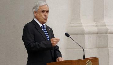 """Piñera acusó """"desorden alarmante"""" en situación migratoria cuando asumió el Gobierno"""