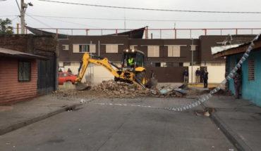 Piñera encabezó demolición de muros en La Legua