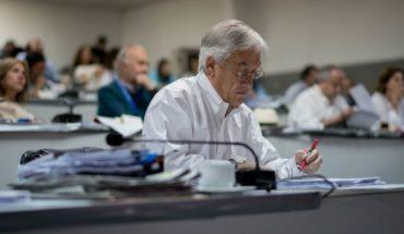 """Piñera llama a la unidad a la oposición y dice que el 2019 intentará implementar """"grandes modernizaciones y reformas"""""""