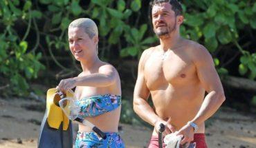 Playa y amor: Katy Perry y Orlando Bloom de vacaciones en Hawaii