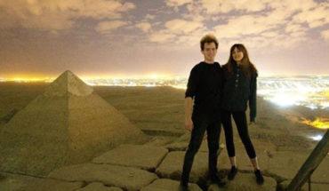 Polémica en Egipto, una pareja se grabó desnuda en la Gran Pirámide de Giza